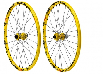MAVIC 2015 Paire de Roue  DEEMAX ULTIMATE 27.5'' disque Axe 20mm/12x150mm