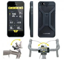 TOPEAK Coque+Support Vélo Pour Iphone5 NOIR