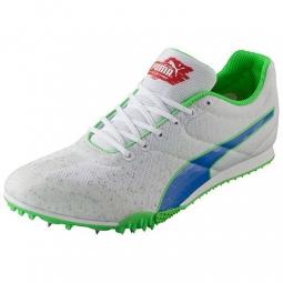 PUMA Chaussures Homme TFX Star V3 Blanc Bleu Vert