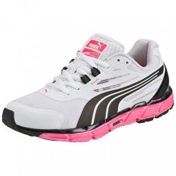 Puma chaussures femme faas 500 s v2 blanc noir 36