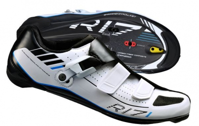 Chaussures Route Shimano R171 Large Blanc