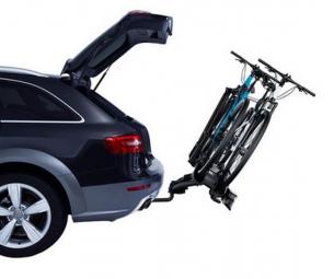 THULE Porte-Vélo sur boule d´attelage VELOCOMPACT 924 2 vélos 13 pins