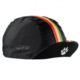 Bontrager casquette cycliste conton heritage noir rasta