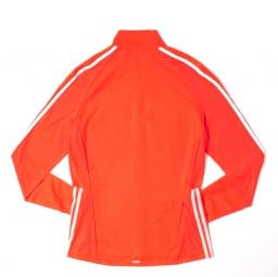 adidas veste homme adizero slim track orange l