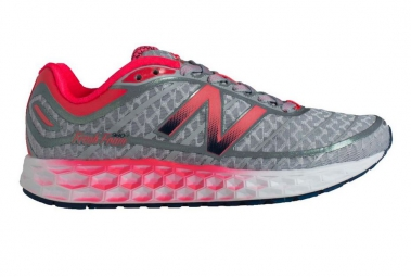 NEW BALANCE Chaussures W980 BORACAY Argent Rose Femme