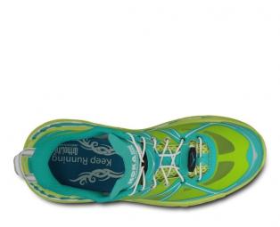 Chaussures de Running Femme Hoka STINSON LITE Bleu / Vert