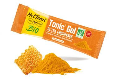 8 Gels énergétiques Meltonic Ultra Endurance BIO Miel Curcuma Gelee Royale 20g