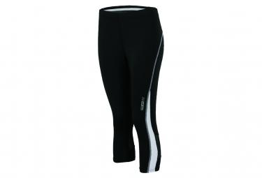 James et Nicholson collants corsaire running jogging JN481 - noir - blanc - femme - course à pied