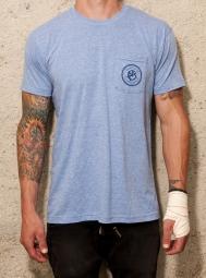 MARKIT Tee Shirt ROPE Pocket Bleu
