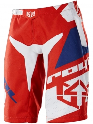 royal short victory race rouge bleu blanc m