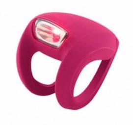 KNOG Lampe arrière FrogStrobe LED - Rose