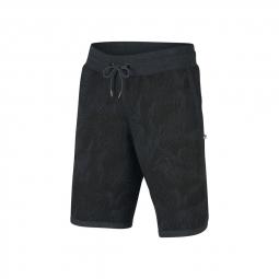 Short oakley fleece black print s