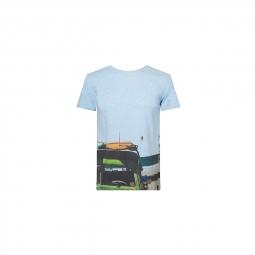 T shirt pullin baywatch bleu m