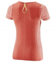 salomon 2015 t shirt elevate corail femme l