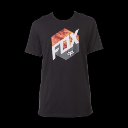 T shirt fox kasted ss tee black m