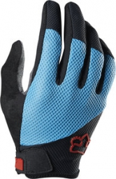 FOX Paire de Gants longs REFLEX Gel Bleu