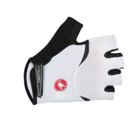 castelli paire de gants femme aremberg blanc noir xl