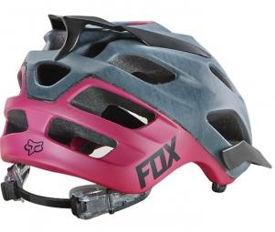 Casque Fox FLUX 2015 Gris Rose Femme