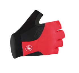 Castelli gants preza noir rouge xs