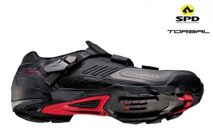 Chaussures VTT SHIMANO XC M163 Noir