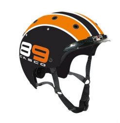 CASCO Casque Ville VAE E.MOTION CRUISER Edition ´´89´´ Noir Orange