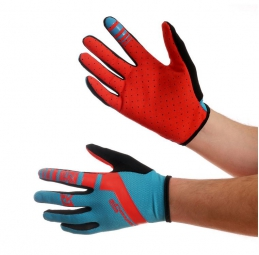 ROYAL Paire de Gants CORE Bleu/Rouge