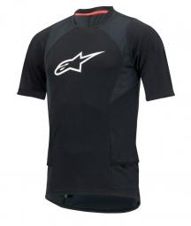 alpinestars maillot manches courtes drop 2 noir s