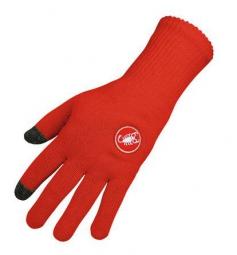 Castelli paire de gants prima rouge xxl