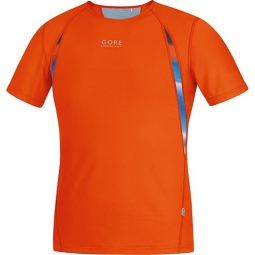 gore running wear air print maillot l