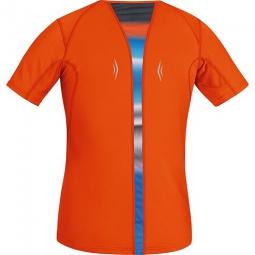 gore running wear air print maillot l