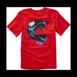 T shirt fox youth mueller ss tee flame red