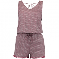 Combishort O´neill Strappy Playsuit Pink / Green