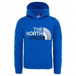 Sweat capuche enfant the north face drew peak cobalt blue
