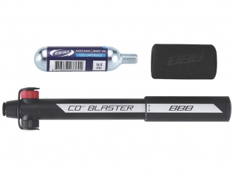 BBB Combo mini pump / CO2 inflator 'CO2BLASTER'