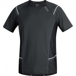 Gore running wear maillot manches courtes mythos 6 0 noir s