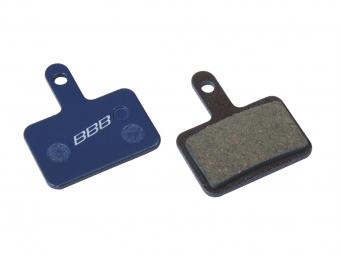 BBB Coppia di pastiglie organiche Shimano Deore BBS-52