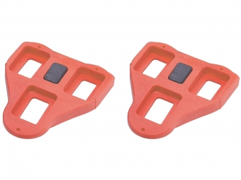 BBB BPD-02A Roadclip Cleats - 9° Red