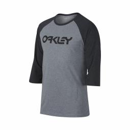 T shirt oakley 50 mark ii raglan white s