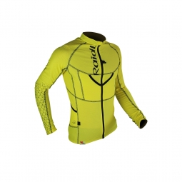 Maillot raidlight xp fit 3d yellow black s
