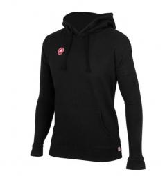 Castelli hoodie race day track noir m