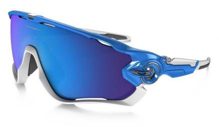 oakley paire de lunettes jawbreaker blue sapphire iridium ref oo9290 02