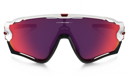 Gafas Oakley JAWBREAKER white red Prizm Road