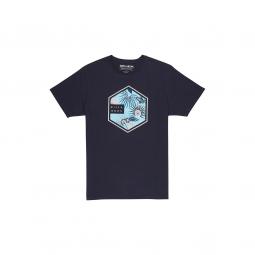 T shirt billabong six tee ss black