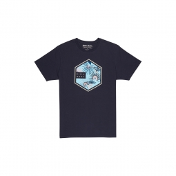 T shirt billabong six tee ss black s