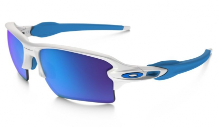 oakley lunettes flak 2 0 xl white sapphire iridium ref oo9188 02