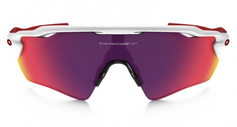 Gafas Oakley RADAR EV PATH white red Prizm Road