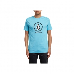 T shirt volcom crisp bsc blue bird xl