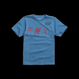 T shirt fox youth mind blown dusty blue s