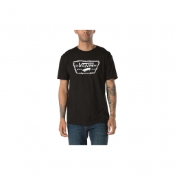 Tee-shirt Vans Full Patch Barbed Black