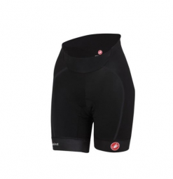 CASTELLI Bib Short Black Woman VELOCISSIMA